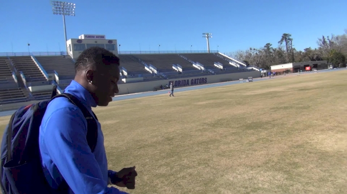 Grant Holloway couldn't run 500m in under 90 sec when he first arrived at Florida