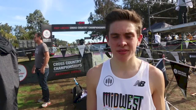 Danny Kilrea Satisfied With Third Place Finish At Foot Locker