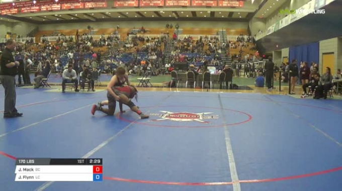 170 lbs Consi of 8 #1 - Joanna Mack, Bacone College W vs Jessie Flynn, Lyon College