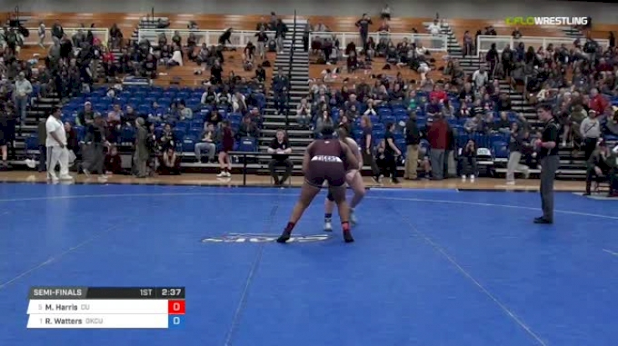 170 lbs Semifinal - Mariah Harris, Campbellsville University W vs Rachel Watters, Oklahoma City University