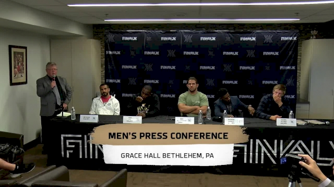 Final X - Lehigh Men's Press Conference