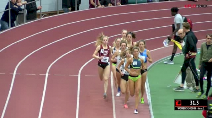 Women's 3k, Heat 1 - Elinor Purrier Runs 8:55!