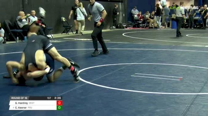 133 lbs R16 - Gary Wayne Harding, OK State vs Corey Keener, PSU
