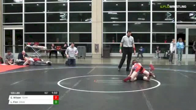 105 lbs Rr rnd 5 - Ethan Wilson, Team Desire Ms vs Liam Finn, Doughboy MS