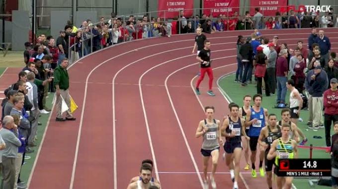 Men's Mile, Heat 1 - Craig Engels 3:53, Gets World Standard!