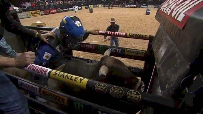 Kaique Pacheco Rides No. 1 Bull In PBR On His Way To Becoming No. 1 Himself