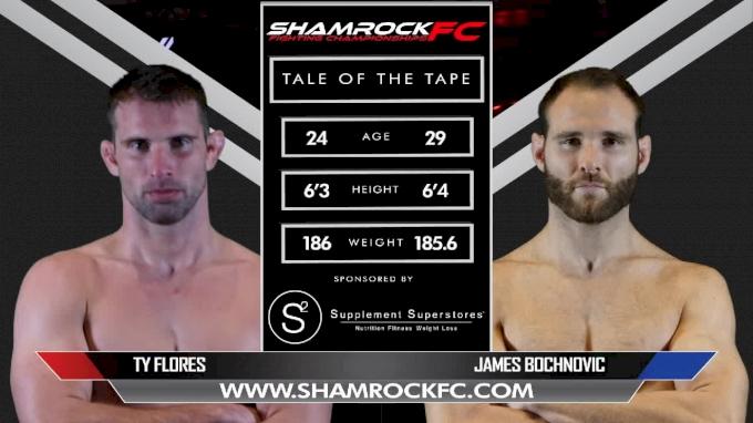 Ty Flores vs. James Bochnovic - Shamrock FC 311 Full Fight Replay