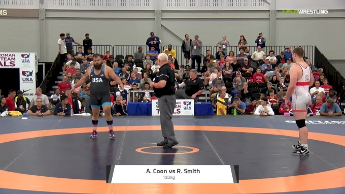 130kg RR2 Adam Coon, NYAC/MWC vs Robby Smith, NYAC