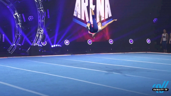 Top Athletes Take On Battle In The Arena