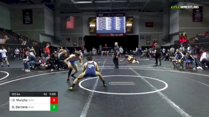 120 lbs Quarterfinal - Devin Murphy, Darkhorse vs Dominick Serrano, BearCave WC