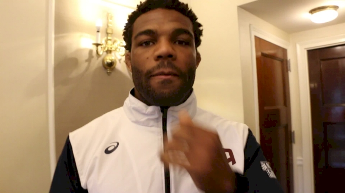 Jordan Burroughs Is Ready For The Super Match Against Frank Chamizo