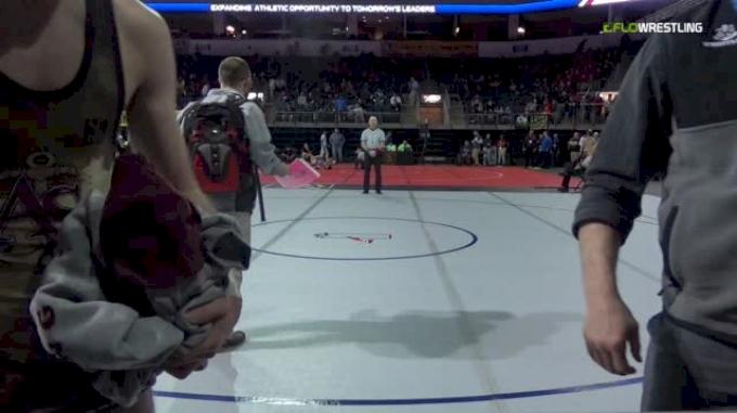 133 lbs Round of 64 - Matt Stavrakis, Rowan vs Anthony Monahan, Apprentice