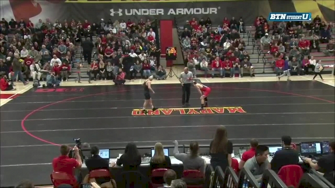 125 m, Nathan Tomasello, Oh State vs Brandon Cray, Maryland