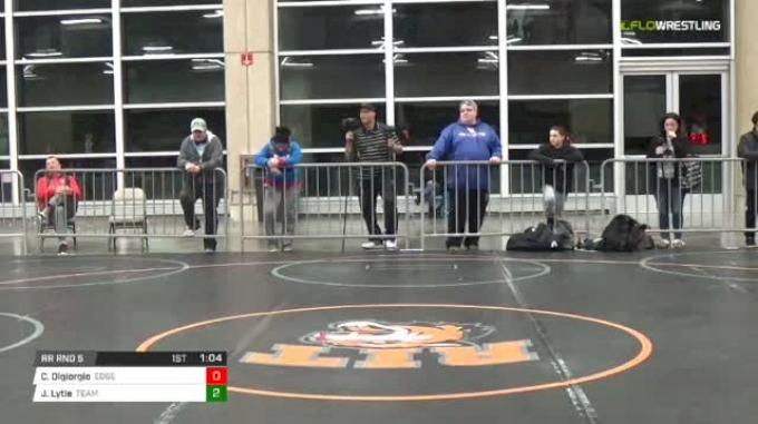 175 lbs Rr rnd 5 - Carl Digiorgio, Edge MS vs Jamikael Lytle, Team All-State MS