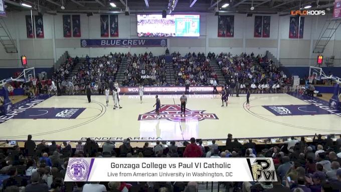 No. 22 Gonzaga (DC) vs. No. 9 Paul VI (VA) | 2.26.18 | WCAC Boys Semifinals.mp4