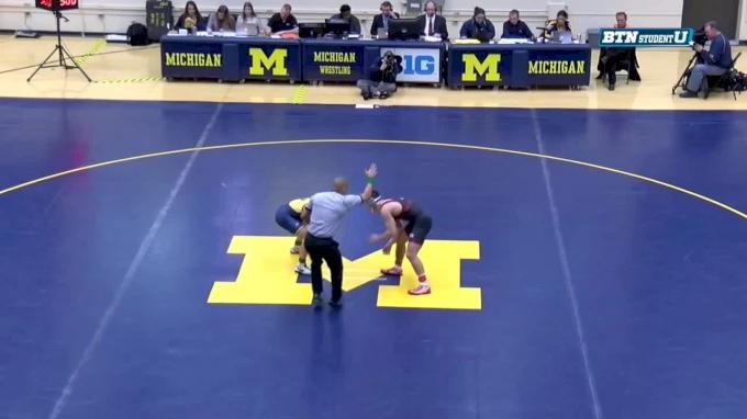 149 m, Colton McCrystal, Nebraska vs Malik Amine, Michigan
