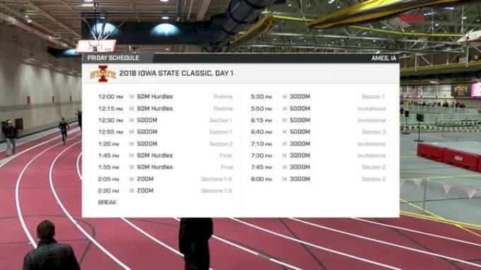 Men's 3k, Heat 1