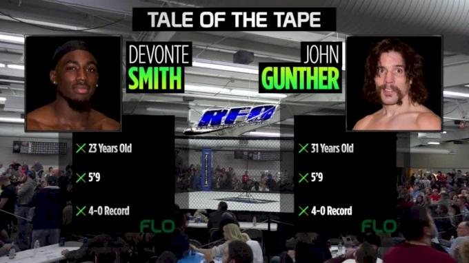 John Gunther vs. Devonte Smith - RFO Big Guns 22 Replay