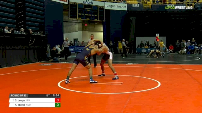 165 lbs Round of 16 - Drew Longo, Lehigh vs Keilan Torres, N. Colorado