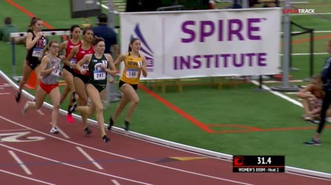 Women's 800m, Heat 2