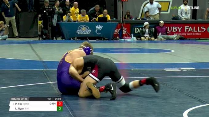 157 lbs Round of 16 - Paul Fox, Stanford vs Logan Ryan, Northern Iowa