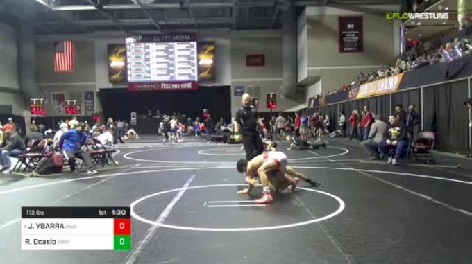 113 lbs Round Of 32 - Jesse YBARRA, Sunnyside Wrestling Club vs Ryan Ocasio, Empire Wrestling Academy