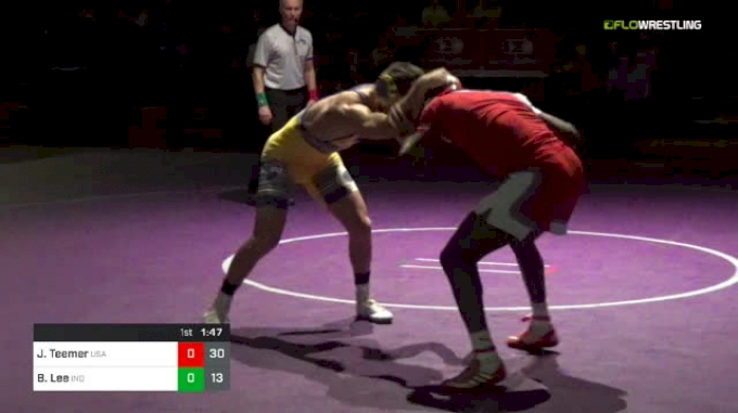 152 lbs Dual - Brayton Lee vs Jacori Teemer