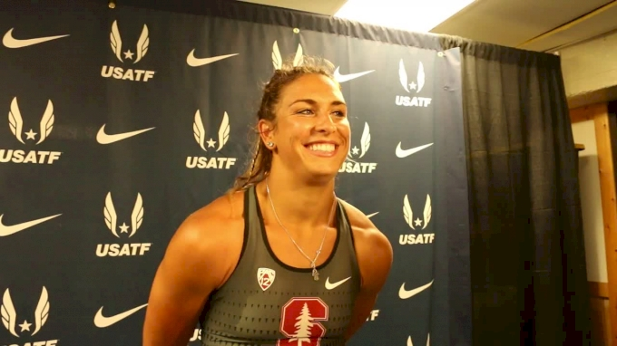 Stanford's Valarie Allman Wins Discus After Heartbreaking NCAAs