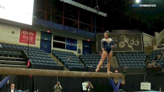 Julia Hutcherson - Beam, Illinois - 2018 Elevate the Stage - Augusta (NCAA)