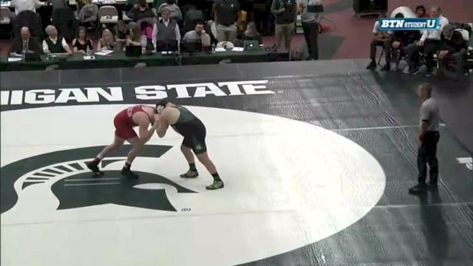 285 m, David Jensen, NEB vs Christian Rebottaro, MSU