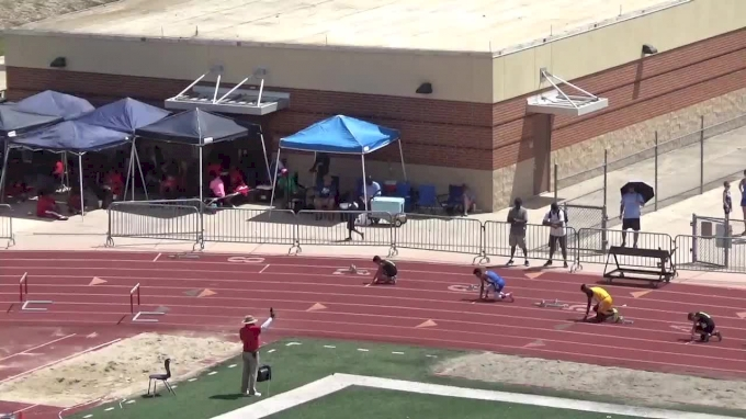 Boys' 200m Hurdles, Heat 2