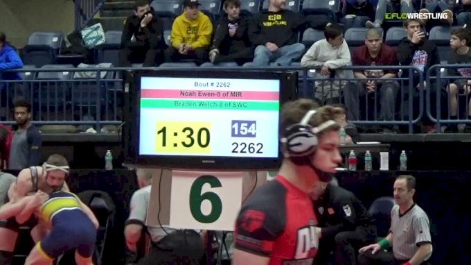 154 f, Noah Ewen, MIR vs Braden Welch, SWC