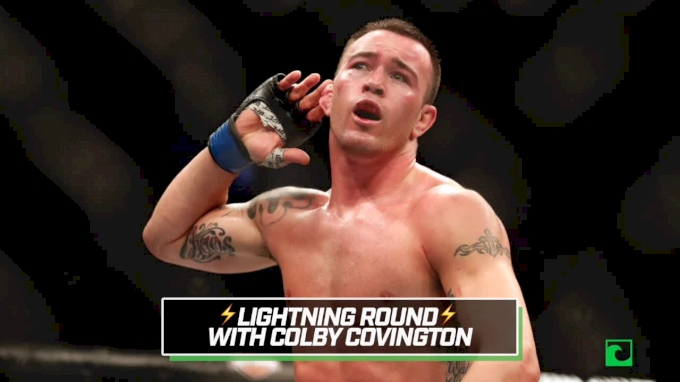 Colby Covington Lightning Round With Georges St-Pierre, Nate Diaz, More