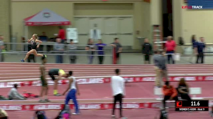 Women's 400m, Heat 9