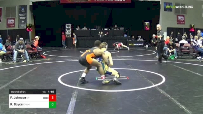 126 lbs Round Of 64 - Paniro Johnson, Erie Cathedral Prep vs Ryker Boyce, Champions Wrestling Club