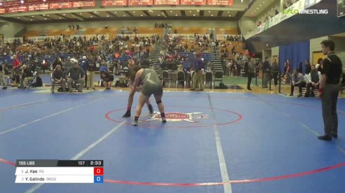 155 lbs Quarterfinal - Jessica Kee, King University W vs Yvonne Galindo, Oklahoma City University