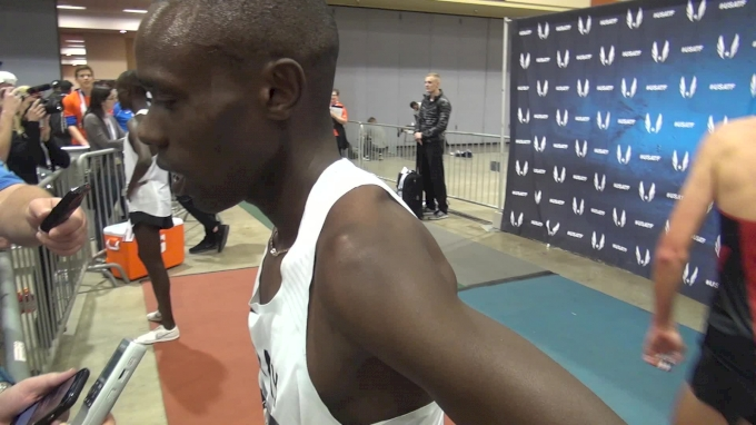 Paul Chelimo is going for gold at Worlds says Ed Cheserek is the real deal