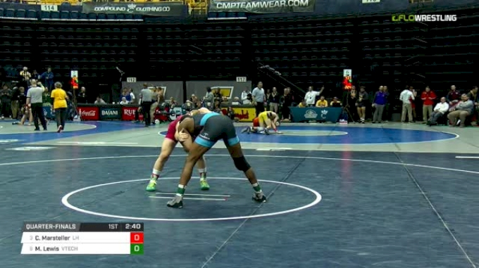 165 lbs Quarterfinal - Chance Marsteller, Lock Haven vs Mekhi Lewis, Virginia Tech