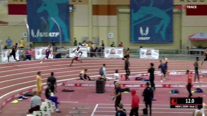 Men's 200m, Heat 12
