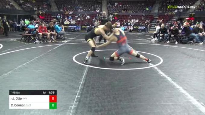 145 lbs Round Of 16 - Joshua Otto, Askren Wrestling Academy vs Cameron Connor, Quest