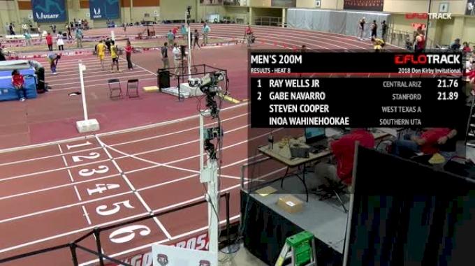 Men's 200m, Heat 8