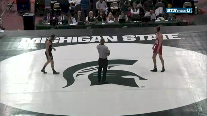 149 m, Collin Purinton, NEB vs Austin Eicher, MSU