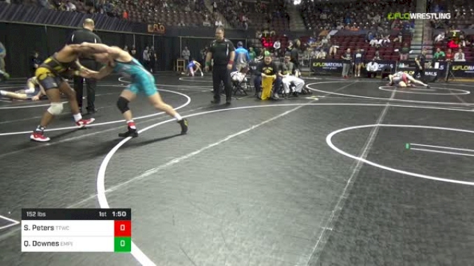 152 lbs Round Of 64 - Sam Peters, TTWC vs Quincy Downes, Empire Wrestling Academy