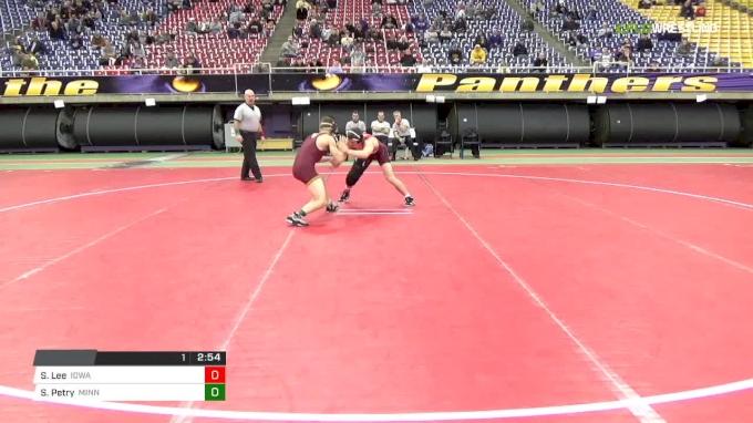 125 final Spencer Lee vs Skyler Petry