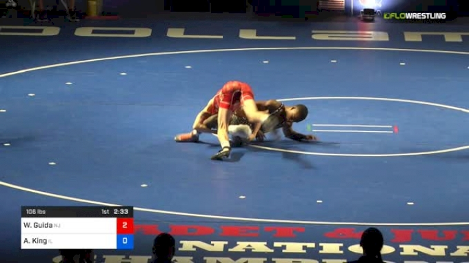 106 lbs Final - Wil Guida, New Jersey vs Anthony King, Illinois