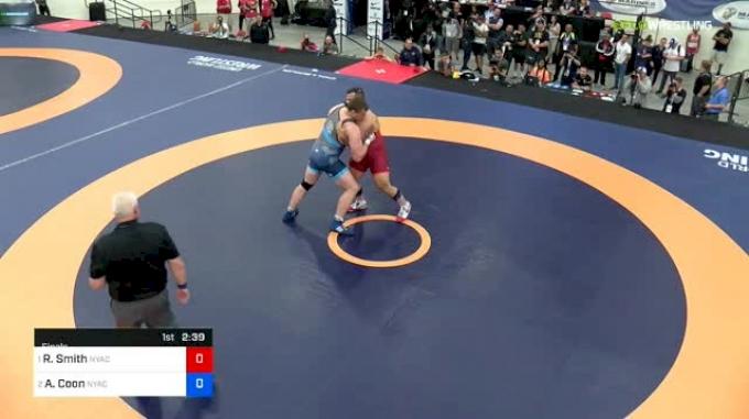 130 kg Final - Robert Smith, NYAC vs Adam Coon, NYAC/MWC