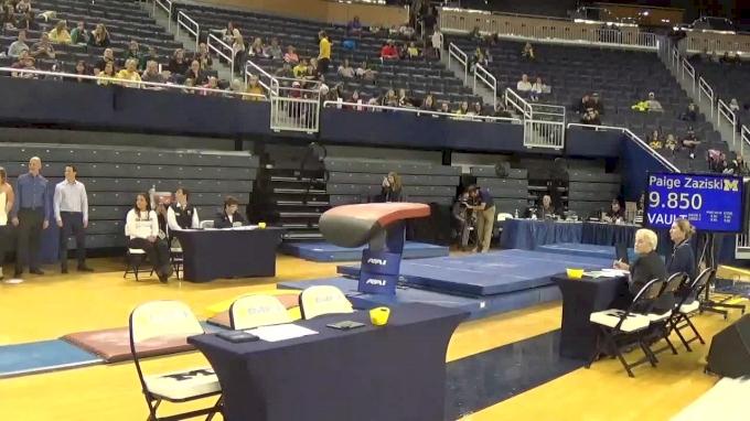 Sydney Townsend- Vault (9.8), Michigan- 2017 Michigan vs. EMU Intersquad