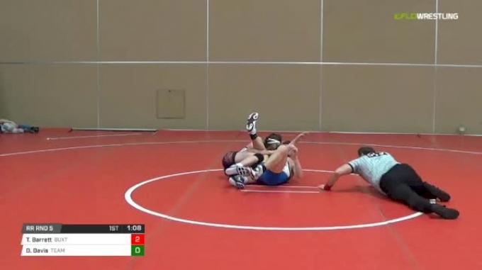 119 lbs Rr rnd 5 - Tyler Barrett, Buxton Intense Ms vs Dereck Davis, Team Delaware MS