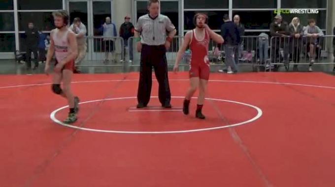 88 lbs Round of 16 - Shane Corrigan, Wisconsin Red MS vs Adam Schweitzer, RHOMP Black MS