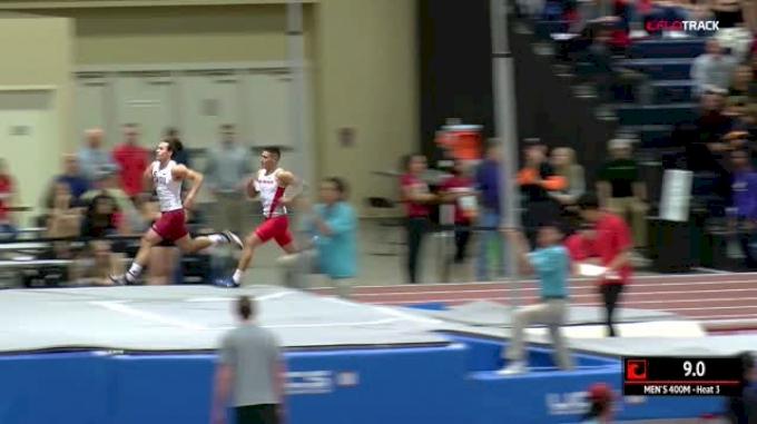Men's 400m, Heat 3